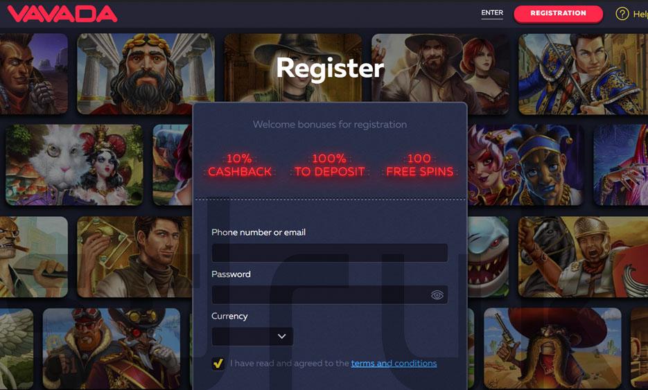 Онлайн-казино Vavada